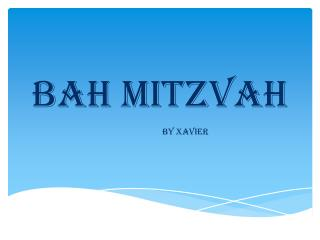 Bah mitzvah