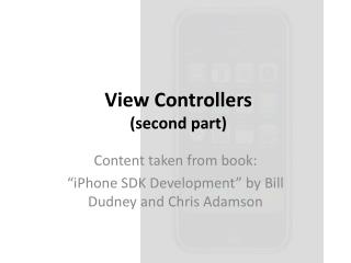 View  Controllers ( second part)