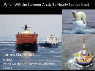 When Will the Summer Arctic Be Nearly Sea-Ice free?