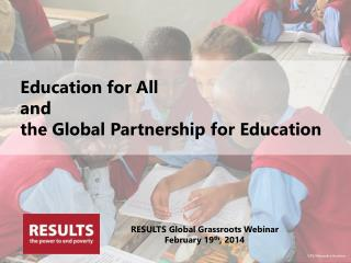 Education for All and the Global Partnership for Education