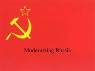 Modernizing Russia