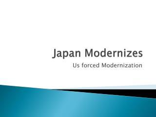 Japan Modernizes
