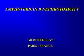 PHARMACOECONOMICS OF HOSPITAL COSTS ACCORDING TO AMPHOTERICIN B RENAL TOXICITY