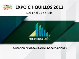 DIRECCIÓN DE Organización de exposiciones