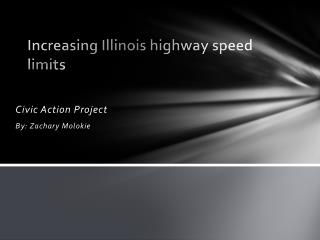Increasing Illinois highway speed limits