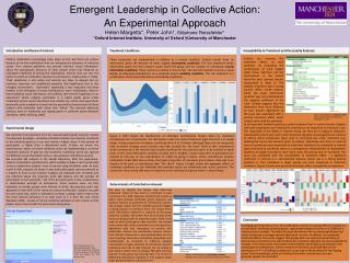 Emergent Leadership in Collective Action: An Experimental Approach