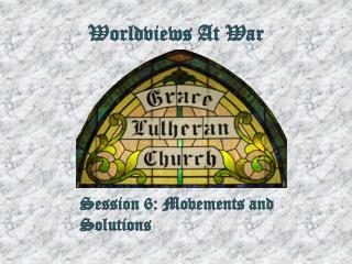 Worldviews At War