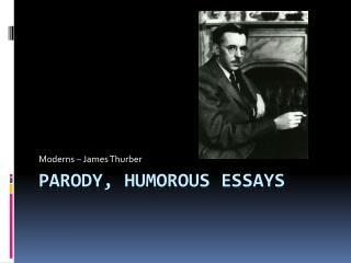 Parody, Humorous Essays