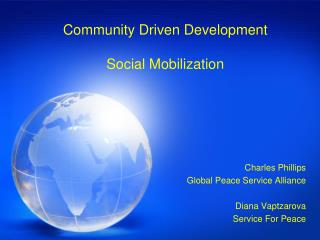 Community Driven Development  Social Mobilization
