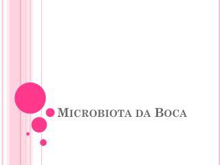 Microbiota da Boca