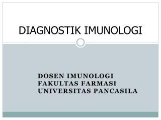 DIAGNOSTIK IMUNOLOGI