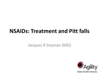 NSAIDs: Treatment and Pitt falls