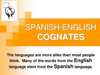 SPANISH-ENGLISH  COGNATES