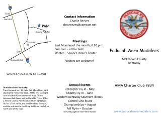 Paducah Aero Modelers McCracken County Kentucky
