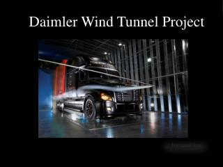 Daimler Wind  Tunnel Project