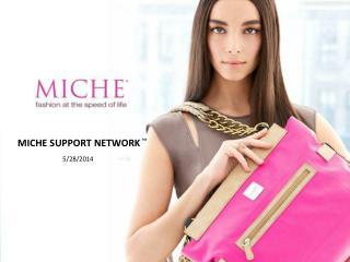 MICHE  SUPPORT NETWORK ™                              5/28/2014