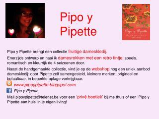 Pipo  y  Pipette