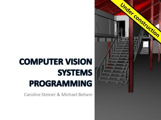 Computer Vision Systems Programming