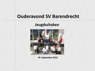 Ouderavond  SV Barendrecht