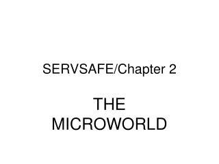 SERVSAFE/Chapter 2