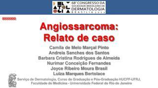 Camila de Melo Marçal Pinto Andreia Sanches dos Santos Barbara Cristina Rodrigues de Almeida