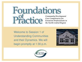 Foundations of Practice Community Development Core Competencies ...