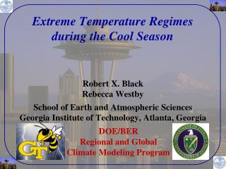 Extreme Temperature Regimes  during the Cool Season
