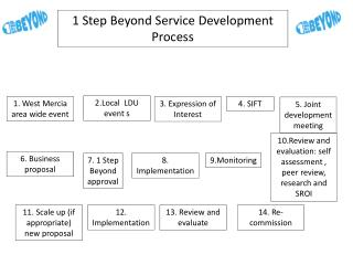 1 Step Beyond Service  D evelopment  P rocess