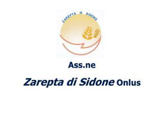 Ass.ne Zarepta  di  Sidone Onlus