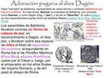 Adoraci n pagana al dios Dag n