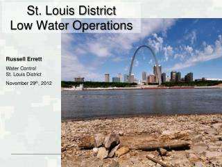 St. Louis District Low Water Operations