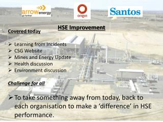HSE Improvement