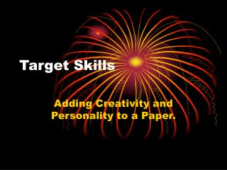 Target Skills