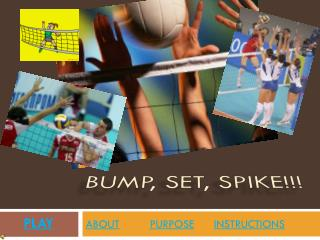 bump, set, spike!!!