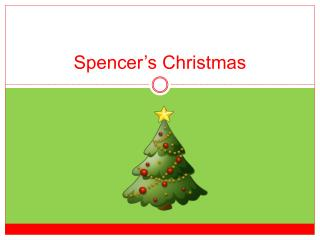 Spencer�s Christmas