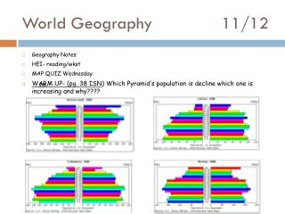 World Geography 			11/12