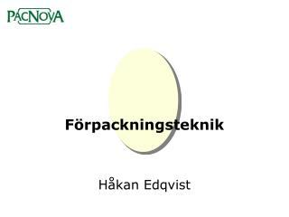 F�rpackningsteknik