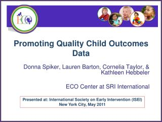 Promoting Quality Child Outcomes Data