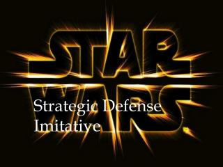 Strategic Defense Imitative