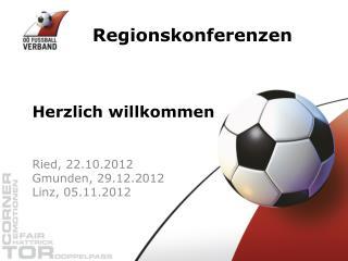 Regionskonferenzen