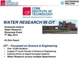WATER RESEARCH IN CIT