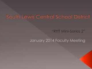 South Lewis Central School District