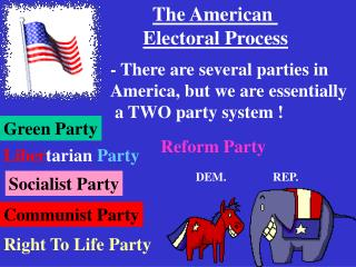 The American  Electoral Process