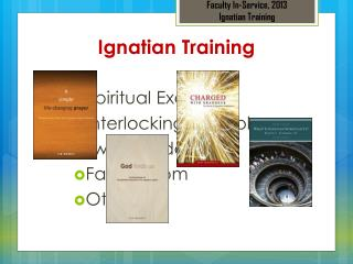 Ignatian  Training