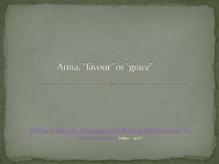 Anna ,