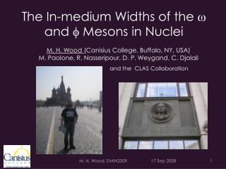 The In-medium Widths of the  w  and  f  Mesons in Nuclei