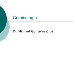 Criminolog
