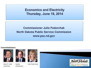 Economics and Electricity Thursday, June 19, 2014