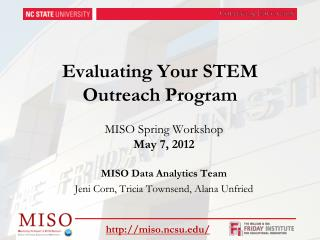 Evaluating Your STEM Outreach Program