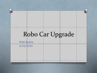 Robo  Car Upgrade